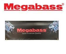 "Megabass Black Dragon Logo Banner 48"" x 18"""