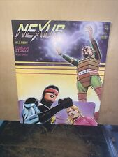 Nexus Capital Comics in Stereo 1982, Issue #3 Rare! Record Never Played!