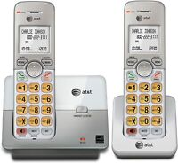AT&T EL51203 DECT 6.0 Phone with Caller ID Call Waiting 2 Cordless Handsets -...