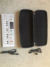 Teenage Engineering OP-1 Keyboard Synthesizer With Case Cables And Accessory