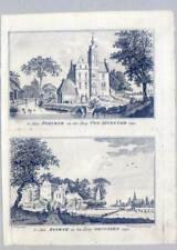 Oud-Zevenaar-Poelwijk-Rijswijk-Groessen-2 Kupferstiche van Liender/de Beyer 1762