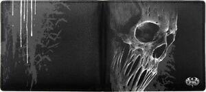 Bat Curse Bifold Wallet RFID Blocker Gothic Spiral NEU Geldbörse