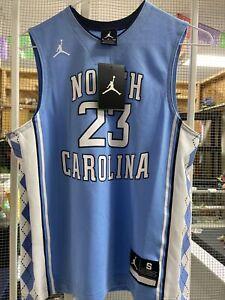 Nike North Carolina Tar Heels #23 Michael Jordan YOUTH Jersey Size Small-NWT!