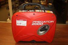 Predator 2000 Watt Gas Generator - Quiet Portable Power Inverter