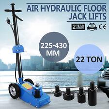 22TON SUPER LOW PROFILE LIFT FLOOR AIR HYDRAULIC TRUCK TROLLEY JACK 180 PSI