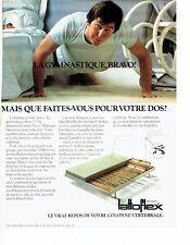 Publicité Advertising 037  1979   le lit & matelas Lattoflex