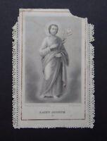 CANIVET BONAMY Saint Jospeh image Pieuse HOLY CARD 19thC Santino