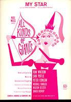 """Alle Arten Von Giants Broadway Show Flops """" Mein Star CM 1961"""