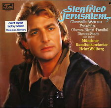 Siegfried Jerusalem Glanzvolle Arien Eurodisc 200 089 LP PROMO SEALED