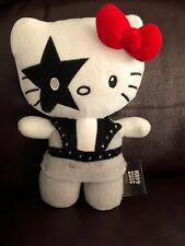 Hello Kitty KISS plush Paul Stanley Plushie 24cm RARE Toy
