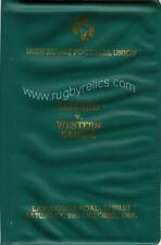 Irlanda / Romania 1986 edizione speciale programma di Rugby