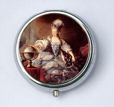 Marie Antoinette Posing French Queen History revolution Pill case box holder