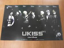 U-KISS  Conti Ukiss [OFFICIAL] POSTER *NEW* K-POP