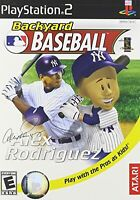 Backyard Baseball For PlayStation 2 6E