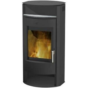 Fireplace Kaminofen » Prag « Stahl - 6.5 kW - für max. 116 m³