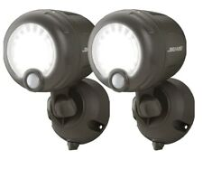 Mr. Beams Wireless Battery Operated Outdoor Motion Sensor Activated LED (2-Pack)