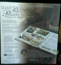 Creative memories 12x12 page protectors NIP!