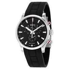 Mido Multifort Chrono Rubber Strap Swiss Quartz Men's Watch M0054171705120