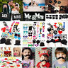 Party Birthday DIY Photo Booth Props Mask On A Stick Mustache Wedding Decoration