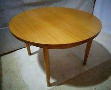 RETRO TEAK DINING TABLE VINTAGE EXTENDING TABLE MID CENTURY TABLE LEGS REMOVABLE