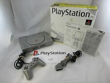 PLAYSTATION 1 console GREY -boxed-