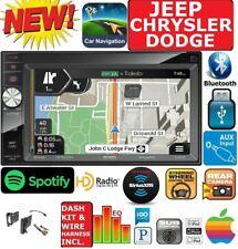 07 & UP CHRYSLER JEEP DODGE JENSEN GPS NAVIGATION NAV BLUETOOTH USB OPT SIRIUSXM