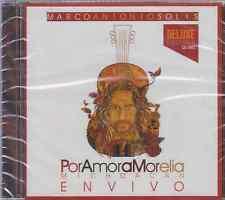 CD - CD / DVD Marco Antonio Solis Por Amor A Morelia DELUXE  FAST SHIPPING !