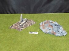 Warhammer 40k Scenery 2 CUSTOM PIECES built and painted (RN^ 154)