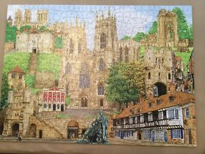 Wentworth Wooden Jigsaw Puzzle 750 pieces York Montage, Excellent Used