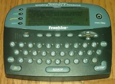 Franklin MWS-1840 Electronic Talk Speaking Meriam-Webster Dictionary Thesaurus