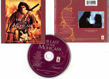 THE LAST OF THE MOHICANS - Day-Lewis(CD BOF/OST) Trevor Jones,Randy Edelman 1992