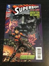 Superboy#25 Incredible Condition 9.4(2014) Eradicator,Ed Benes Art!!