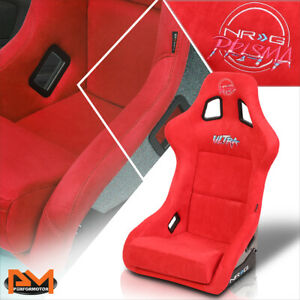 NRG Innovations FRP-302BL-ULTRA Prisma Fixed Back Large Size Bucket Racing Seat
