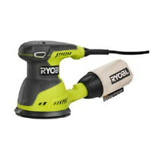 Ryobi 2.6 Amp 5 in. Random Orbit Sander Green RS290G Recon