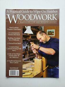 Woodwork Magazine December 2007