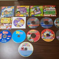Lot of 15 kids PC games/learning game/educational songs CD-ROM loose