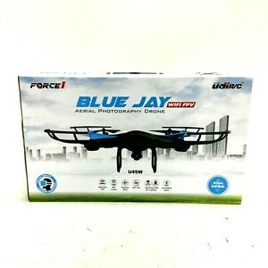 Force 1 U45W Blue Jay WiFi FPV Quadcopter Drone with HD Camera 720P Video Live
