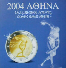 Greece - Complete Set 2002-2004  3,88€  8 Coins  New  Olympic Games