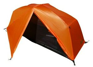 PahaQue Bear Creek Solo Tent 1-Person Backpacking Tent Camping Hiking ORANGE-