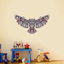 Removable Flower Owl Wall Sticker Kids Playroom Decals Decor DIY Vinyl Art Mural