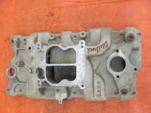 Edelbrock SP2P Aluminum Intake Manifold Chevy 350 400 Model 3000 S.P.2-P