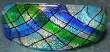 BEAUTIFUL MARINO ITALIAN Glass Women's Bracelet - Blue/Greens