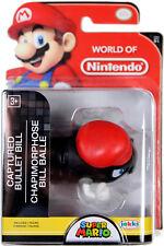 World of Nintendo ~ CAPTURED BULLET BILL (Series 16) ~ Super Mario ~ JAKKS