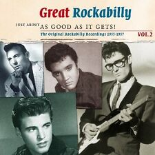 GREAT ROCKABILLY VOL.2 - JUST ABOUT AS GOOD AS IT - ELVIS PRESLEY - 2 CD NEU