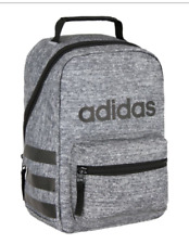 Adidas Santiago Insulated LUNCH TOTE BAG Box Jersey Onix / Black NEW