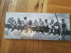Lunch  Men On A Girder Canvas Print Brand - New still in plastic