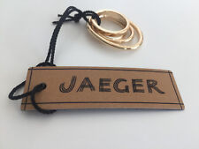 JAEGER DESIGNER LADIES GOLD COLOUR MULTI HOOP DRESS RING - NEW WITH TAGS