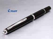 PILOT CAPLESS FERMO BLACK STYLO PLUME VANISHING POINT  FOUNTAIN PEN + CON-40