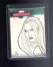 Marvel Masterpieces  sketch card