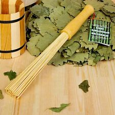 Russian Sauna Bath Broom Natural Bamboo Whisk for Spa Venik for Banya